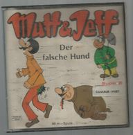 BOBINE DE FILM Dans Sa Boite, Mutt &Jeff , Der Falsche Hund  ,  Super 8 , 3 Scans, Frais Fr 8.45 E - Pellicole Cinematografiche: 35mm-16mm-9,5+8+S8mm