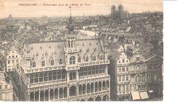 Bruxelles - CPA - Brussel - Panorama Pris De L'Hôtel De Ville - Panoramische Zichten, Meerdere Zichten