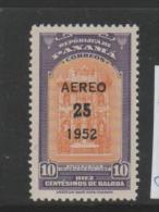 Panama Mi.Nr. 406/ 1952, Neuer Wertaufdruck ** - Panama