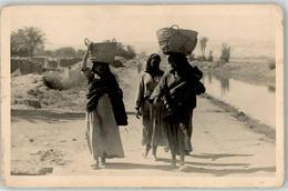 51851764 - Frauen Tragen Koerbe Auf Dem Kopf AK - Marokko