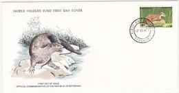 1977 / Lot De 3 Enveloppes 1er Jour Du Fonds Mondial Pour La Nature / FDC / BOSTWANA - Botswana (1966-...)
