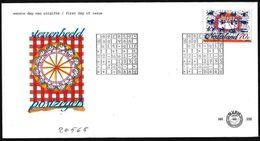 Paesi Bassi/Netherlands/Pays-Bas: FDC, Torta E Segni Zodiagali, Cake And Zodiac Signs, Gâteaux Et Signes Du Zodiaque - Astrologia