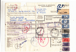 Indonesia / Tax  / Italy / Parcel Cards - Indonesia