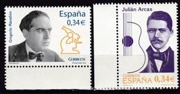 2010,  Spanien, 4514/15, Persönlichkeiten. Personalidades, MNH ** - 1931-Aujourd'hui: II. République - ....Juan Carlos I