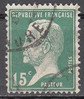 FRANCE   SCOTT NO. 186     USED     YEAR  1923 - France