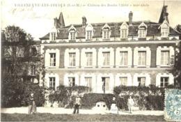 77 VILLENEUVE-LES-BORDES - Château Des Bordes L'Abbé - XIIIè Siècle - Animée - France