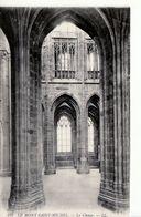 Le Mont Saint-Michel -  Le Choeur - Le Mont Saint Michel