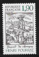TIMBRE N° 2475  FRANCE -  HENRI POURRAT   - NEUF  -  1987 - France