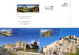 Greece 2017 > EUROPA 2017 Castles > Set Of 2 Maximum Cards - Maximum Cards & Covers