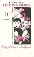 FETE DES MERES 1950 - Altri