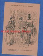 Document De 1886 - Illustration MARS Dessinateur Caricaturiste - PARIS Sortie De Concert - Publicité Magasin Bon Marché - Historical Documents