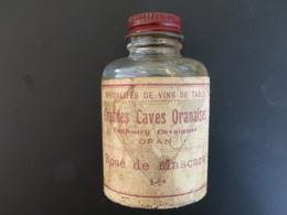 Ancienne Miniature ROSE De MASCARA Grandes Caves Oranaises, Faubourg Cavaignac à ORAN (Algérie) - Mignonnettes