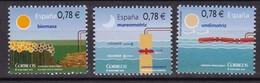 2010,  Spanien, 4525/27, Erneuerbare Energien. Energías Renovables. MNH ** - 1931-Aujourd'hui: II. République - ....Juan Carlos I