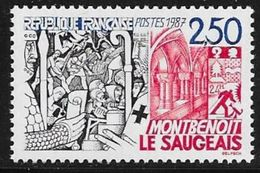 TIMBRE N° 2495  FRANCE -  MONTBENOIT   - NEUF  -  1987 - France