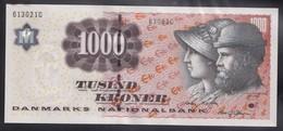 Denmark 1000,  1,000 Kroner. 2004. OLD Sign. UNC  B3082A (A To N), Sign:Torben Nielsen - Denmark
