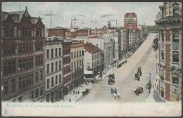 State Street From Broadway, Albany, New York, 1907 - Tuck's U/B Postcard - Albany