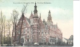 Bruxelles - CPA - Brussel - Exposition 1910 - Pavillon Hollandais - Lanen, Boulevards