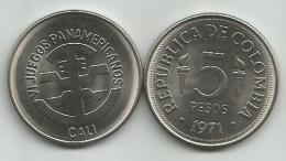 Colombia 5 Pesos 1971. High Grade Cali - Colombia