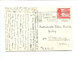 Cp - SUISSE - Tir Fédéral Lausanne 1954 8-25 Juillet - Shooting (Weapons)