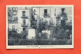 Cartolina Porto Empedocle - Monumento Ai Caduti - 1941 - Agrigento