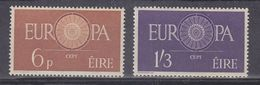 Europa Cept 1960 Ireland 2v ** Mnh (38198) - 1960