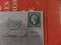 03.04.18-LAC  Rare PC 3180Bis De Rodez Sur N°22 Non-repertorié!! Normalement St-Mande-Paris(60)  Plus 500€!! - Postmark Collection (Covers)