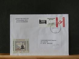 76/741  LETTRE     BELGE  2004 - Belgien