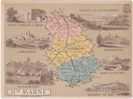 Chromo - Département De La Haute Marne - Chromos