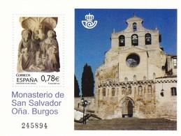 2010,  Spanien, 4462 Block 203, 1000 Jahre San-Salvador-Kloster, 1000 Años En El Monasterio De San Salvador, MNH ** - 1931-Aujourd'hui: II. République - ....Juan Carlos I