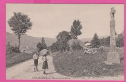 88 VOSGES - GERARDMER , Chemin De La BRESSE , Personnages - Gerardmer