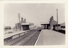 Railway Station Photo North Walsham Main 1959 GER Great Eastern Bittern Line - Treinen