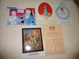 LOT DE 5 ILLUSTRATIONS ....LA REVOLUTION FRANCAISE.... - Cartes Postales