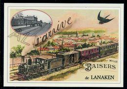 LANAKEN......train Souvenir Creation Moderne Serie Limitee - Lanaken