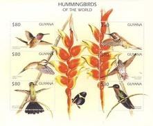 MDB-BK3-391a MINT ¤ GUYANA 1999  6w In Serie  ¤ BIRDS Of The WORLD - OISEAUX - PAJAROS - VOGELS - VÖGEL - - Hummingbirds