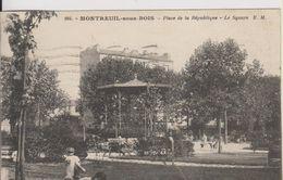 D93 - MONTREUIL SOUS BOIS - PLACE DE LA REPUBLIQUE - LE SQUARE - (ENFANTS) - Montreuil