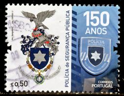 !■■■■■ds■■ Portugal 2017 AF#4869ø 150 Years Portuguese Public Police Command Arms Nice Stamp VFU (k0021) - 1910 - ... Repubblica