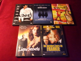 PROMO  5 DVD ° POUR 20 EUROS °   REF 56 - DVD