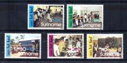 Surinam - 1986 - Child Welfare - MNH - Surinam
