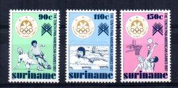 Surinam - 1987 - 10th Pan-American Games - MNH - Surinam