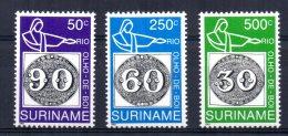 Surinam - 1993 - 150th Anniversary Of 1st Brazilian Stamps - MNH - Surinam