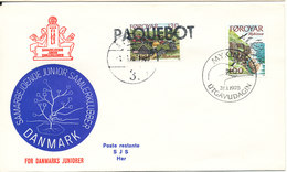 Faroe Islands Ship Cover Paquebot Alborg 1-3-1978 - Faroe Islands