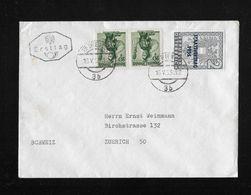 1955 ERSTTAG → Staatsvertrag 1955, Brief Nach Zürich - FDC