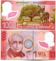 1000 КОЛОНЕС КОСТА-РИКА ПОЛИМЕР  2009 UNC - Costa Rica