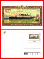 """CPSM/gf  BATEAUX.  Paquebot """" FRANCE """" De La Cie Gle Transatlantique. Havre-New York....D151 - Piroscafi"""