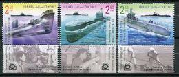 Israel 2017 / Submarines MNH Submarinos U-Boote / Cu7430 18 - Submarinos