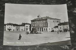 1875    Agazzano  Piazza E Municipio  Animato - Piacenza