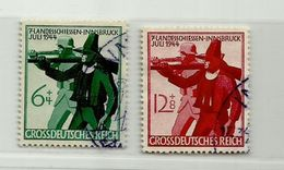 Allemagne III ème Reich N° 817 - 818 - Duitsland