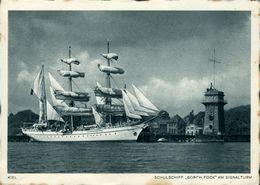 Gorch Fock Voilier-école   Allemagne - Sailing Vessels