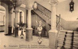 Hoogstraten - Kostschool Der Ursulinen, Hoofdingang - Hoogstraten