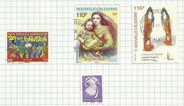 Nouvelle-Calédonie N°990 à 993 Cote 5.20 Euros - Used Stamps